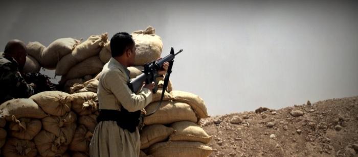 Kurdish Peshmerge holding the line against ISIS