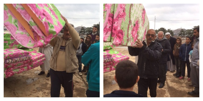 Mattresses for IDP'S of Duhok